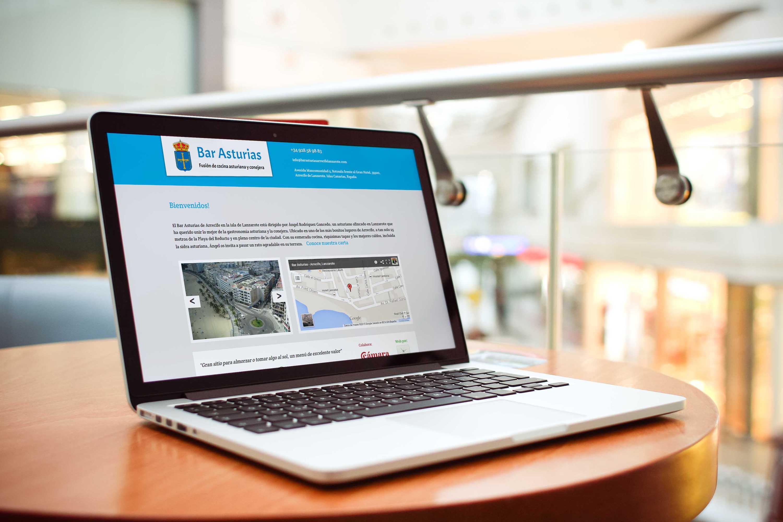 Bar Asturias Web