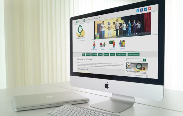 Asociación OROBAL Web